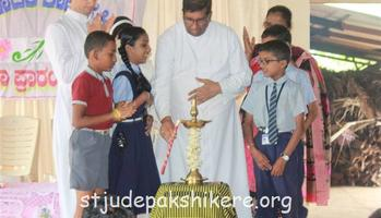 The beginning of New Academic Year 2017-2018 at St. Jude School, Pakshikere