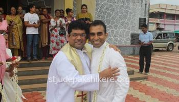 Welcoming Rev. Fr. Rahul Dexter D'Souza