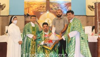 Farewell to Fr Santhosh D'Souza