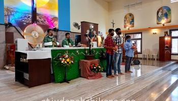 Way of Cross & Veneration of Cross at St. Jude Church & Shrine Pakshikere