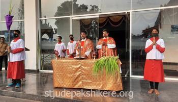 Palm Sunday celebration