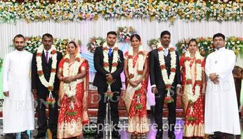 Community Wedding celebrations held