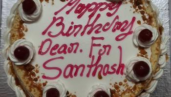 Birthday of Rev. Fr Santhosh Dsouza was Celebrated