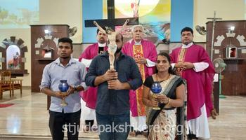 Way of the Cross held at St. Jude Church & Shrine, Pakshikere