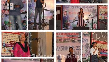 Christmas Evening and Final round of Voice of Pakshikere singing competition held