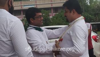A Hearty Welcome to Fr Santhosh D'Souza