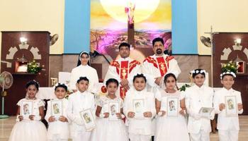 First Holy Communion held