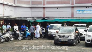 Blessing of Parishioners' Vehicles